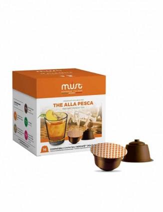Kapsulas persiku ledus tēja, Dolce Gusto® automāta kapsulas.