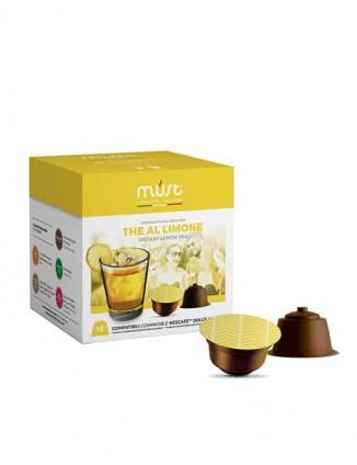 Kapsulas melnā ledus tēja ar citronu, Dolce Gusto®* aparātiem.