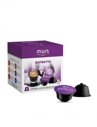 Kafija kapsulās Ristretto, Dolce Gusto®* aparātiem.