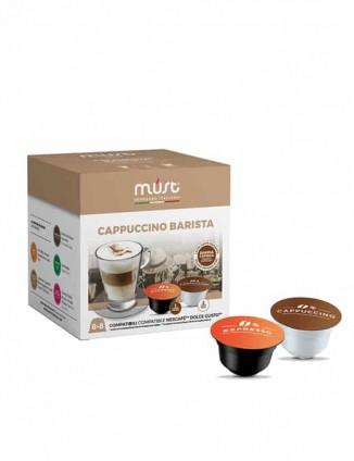 Kafija kapsulās Cappucino barista, Dolce Gusto®* aparātiem.