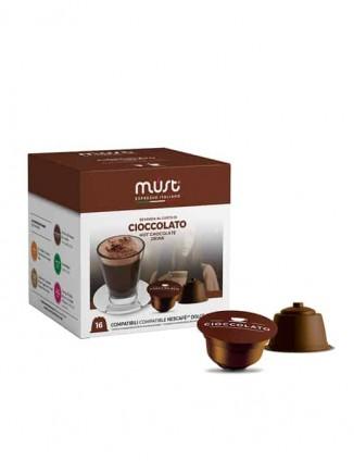 Karstās šokolādes dzēriens kapsulās